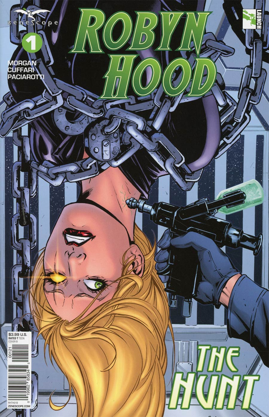 Grimm Fairy Tales Presents Robyn Hood The Hunt #1 Cover B Riveiro