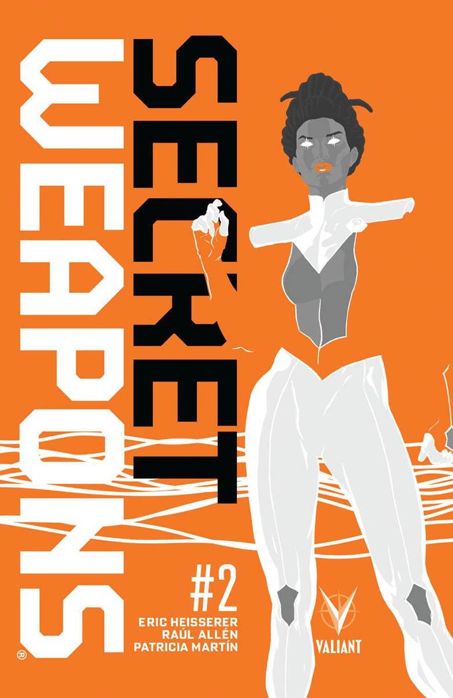 Secret Weapons Vol 2 #2 Cover A 1st Ptg Regular Raul Allen Cover