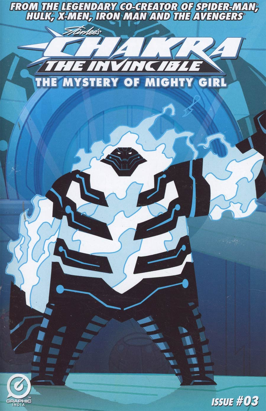 Stan Lees Chakra The Invincible Mystery Of Mighty Girl #3