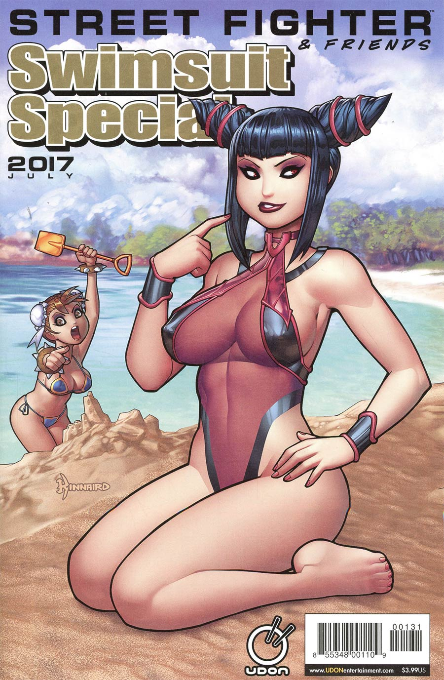 Street Fighter & Friends Swimsuit Special 2017 Cover C Variant Ryan Kinnaird Cover
