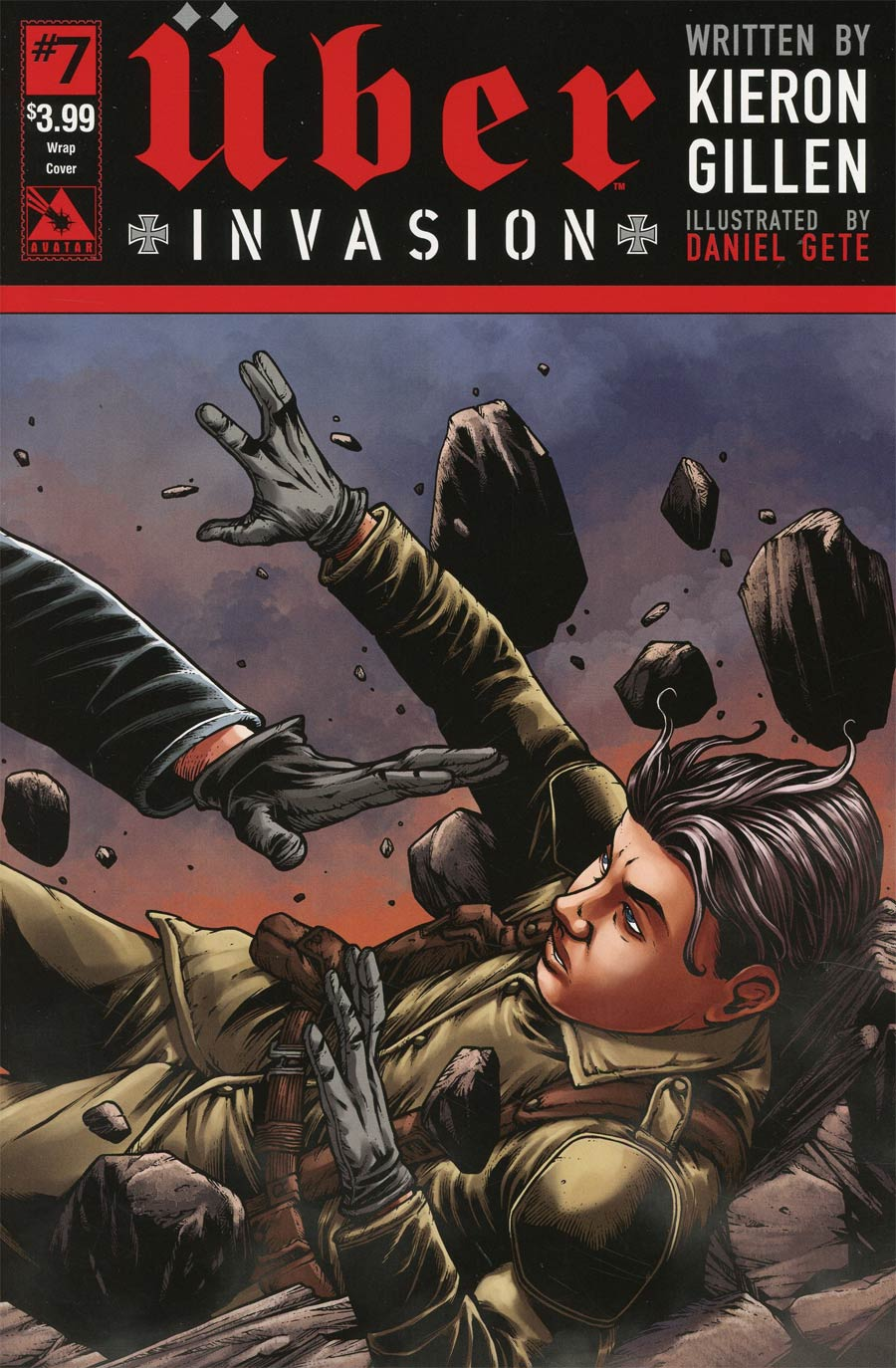 Uber Invasion #7 Cover B Wraparound Cover