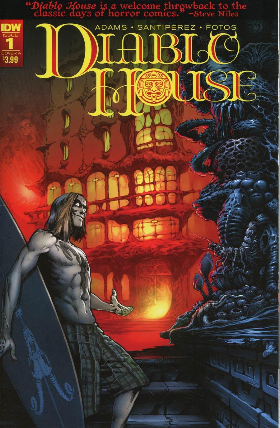 Diablo House #1 Cover A Regular Santiperez Cover