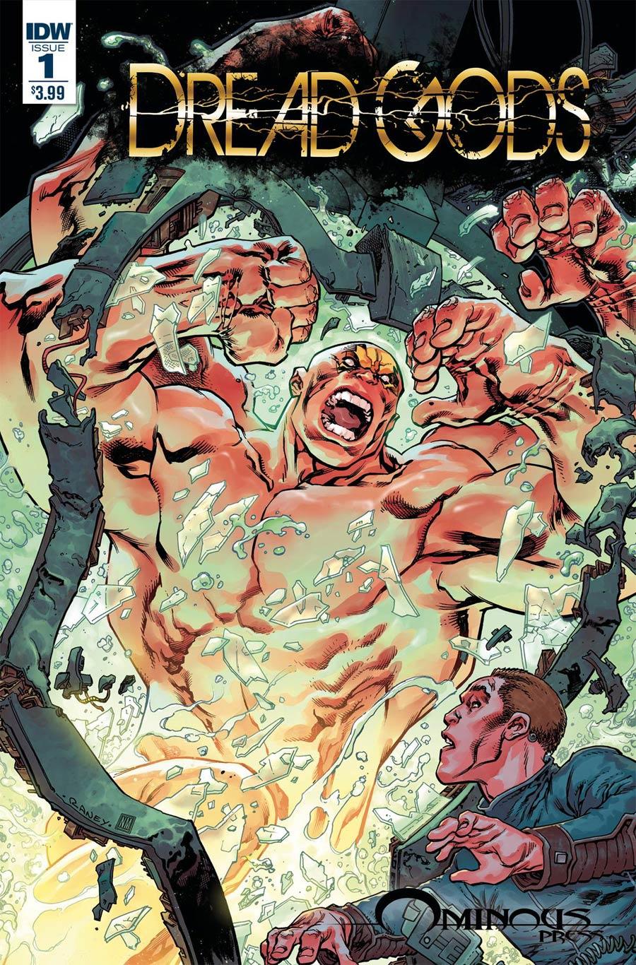Dread Gods #1 Cover A Regular Tom Raney Cover