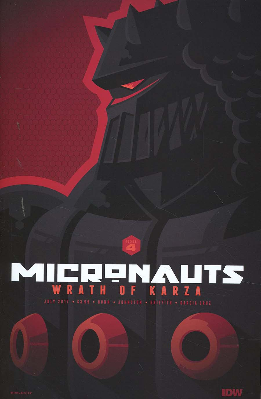 Micronauts Wrath Of Karza #4 Cover B Variant Tom Whalen Cover