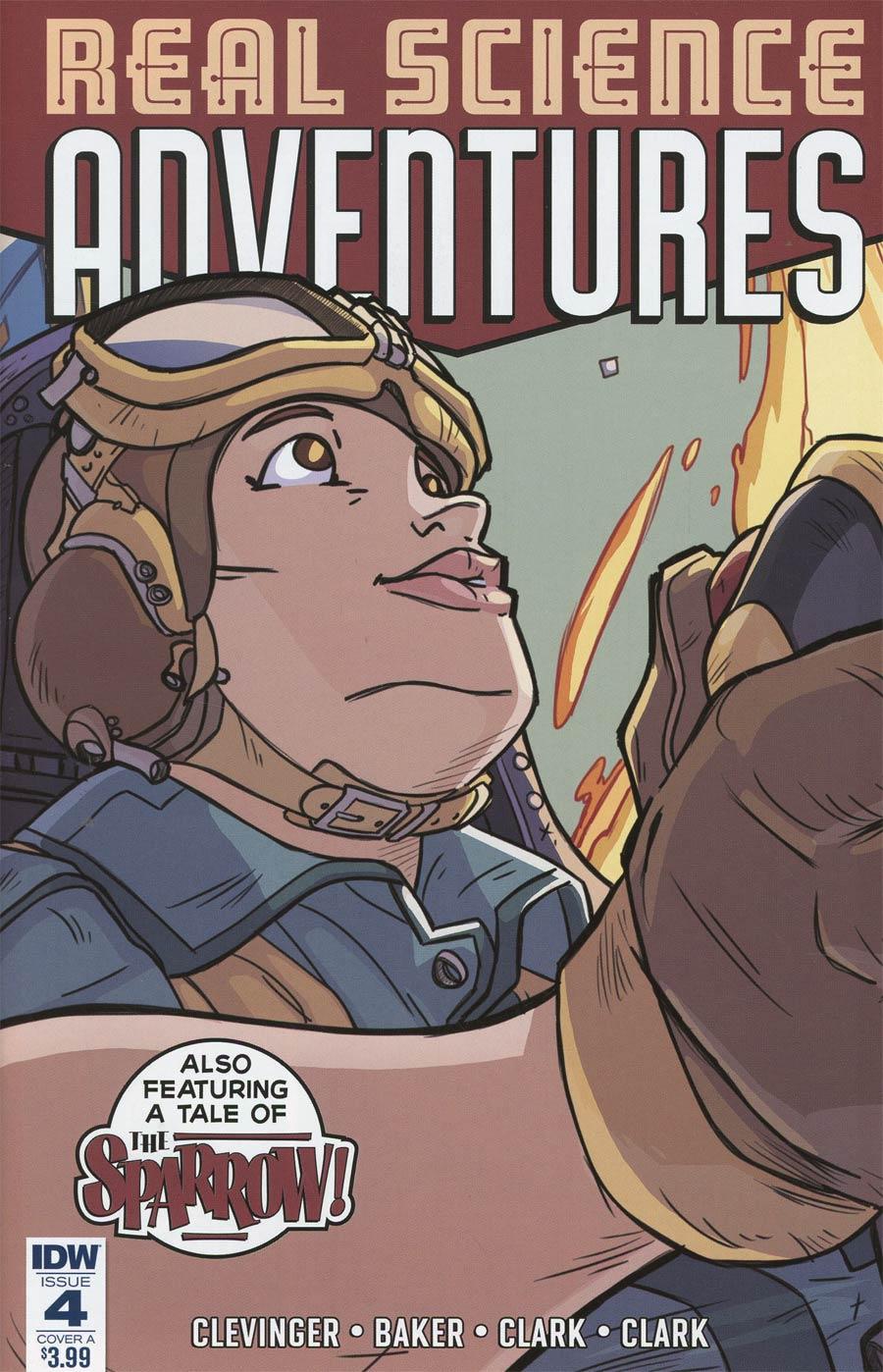 Atomic Robo Presents Real Science Adventures #4 Cover A Regular Scott Wegener Cover