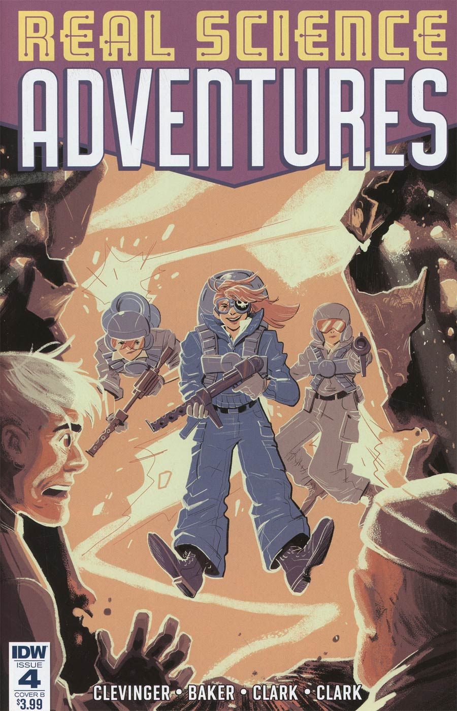 Atomic Robo Presents Real Science Adventures #4 Cover B Variant Brooke Allen Cover