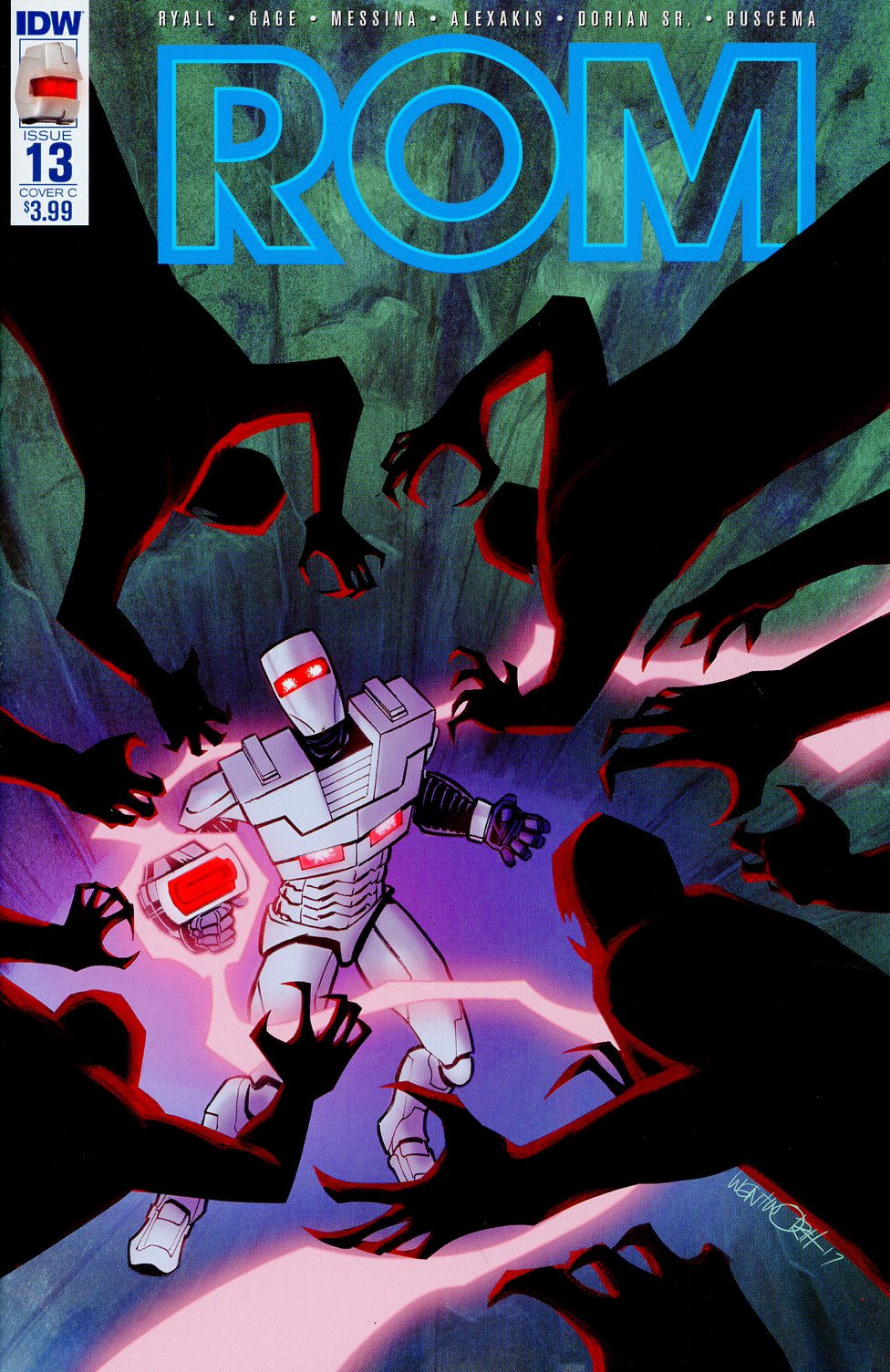 ROM Vol 2 #13 Cover C Variant Richard Wentworth Cover