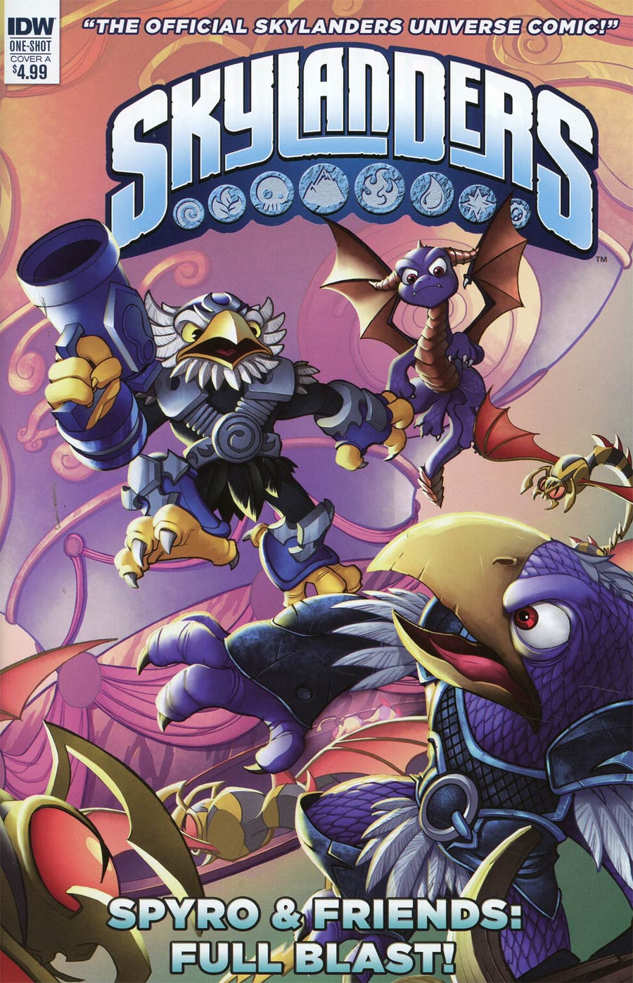 Skylanders Spyro & Friends Quarterly Full Blast Cover A Regular David Baldeon Cover