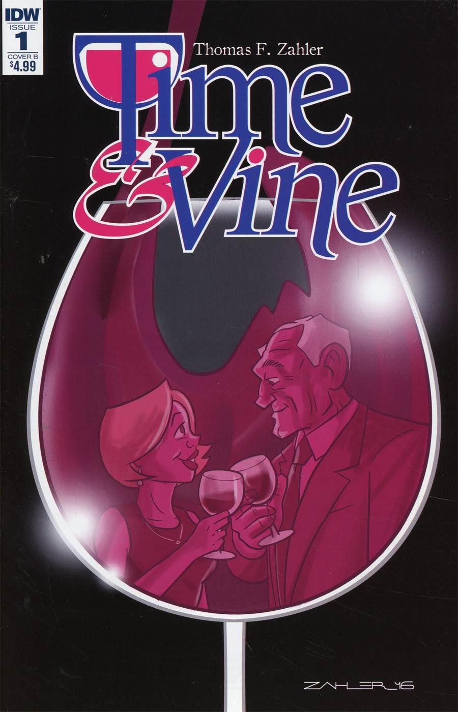 Time & Vine #1 Cover A Regular Thom Zahler Cover
