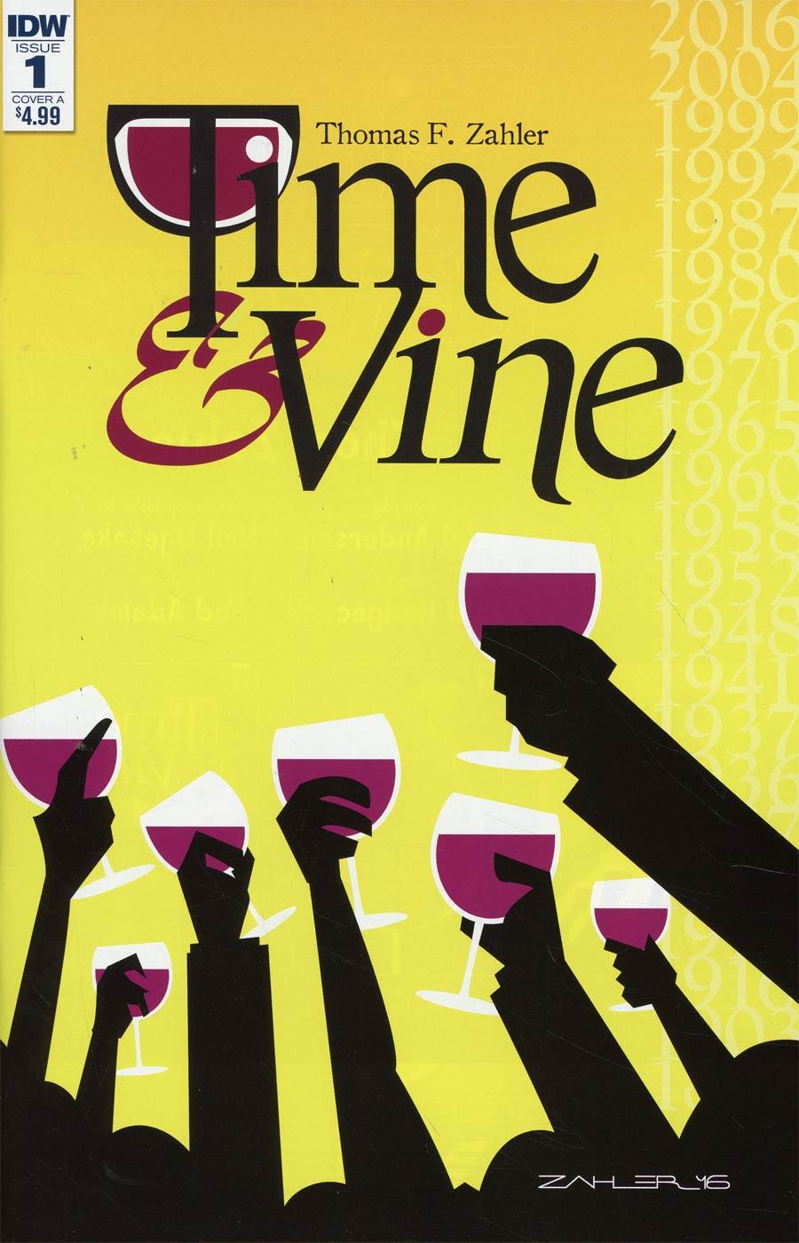 Time & Vine #1 Cover B Variant Thom Zahler Cover