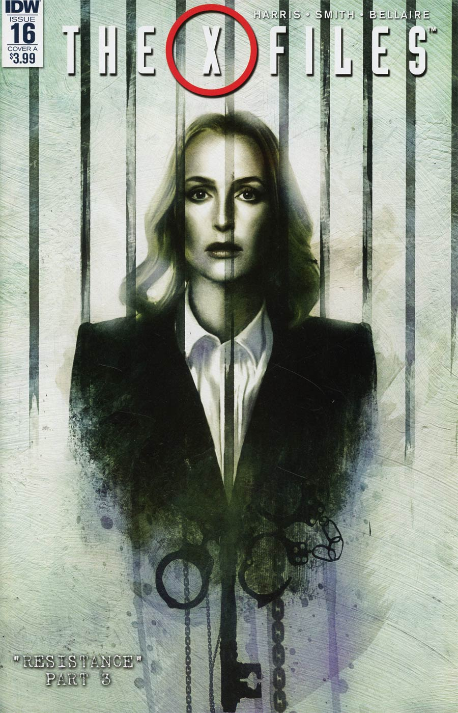 X-Files Vol 3 #16 Cover A Regular Menton3 Cover