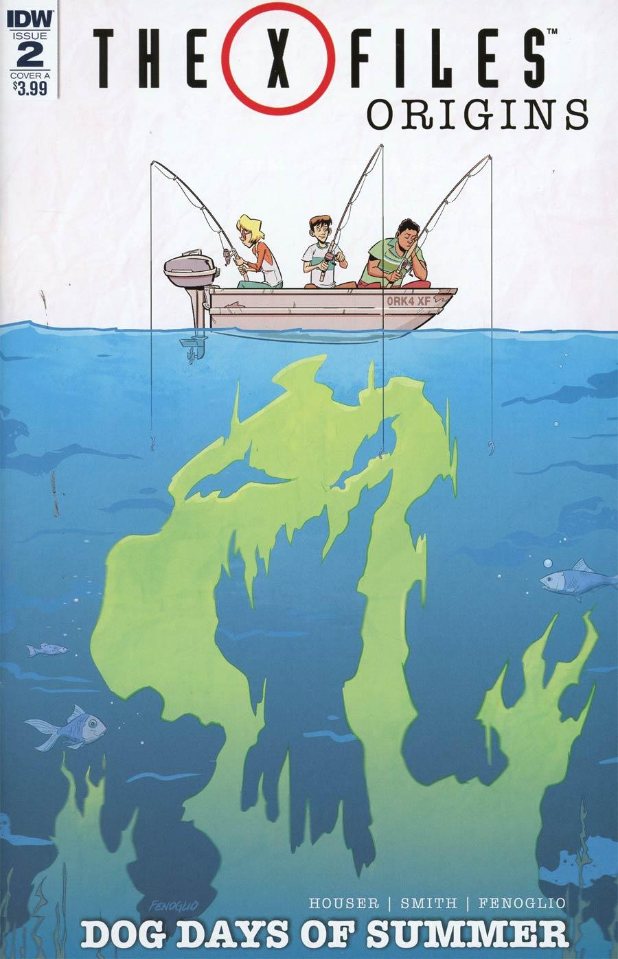 X-Files Origins II Dog Days Of Summer #2 Cover A Regular Chris Fenoglio & Corin Howell Cover