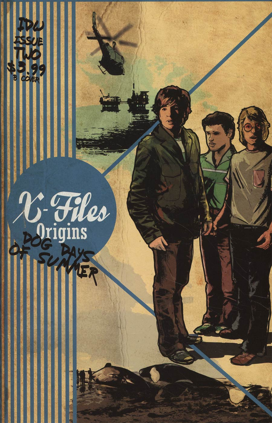 X-Files Origins II Dog Days Of Summer #2 Cover B Variant Cat Staggs Cover