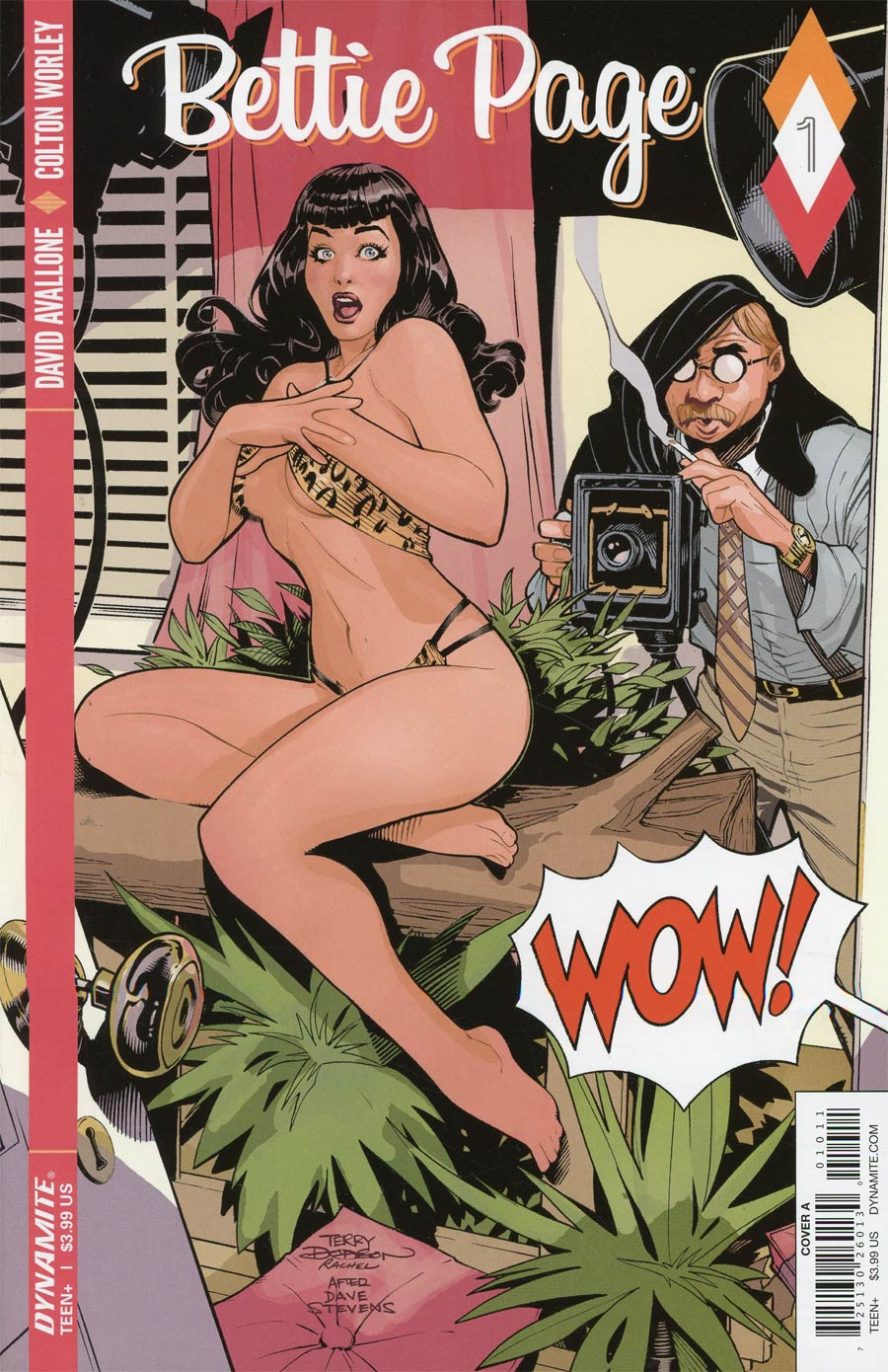 Bettie Page #1 Cover A Regular Terry Dodson Cover