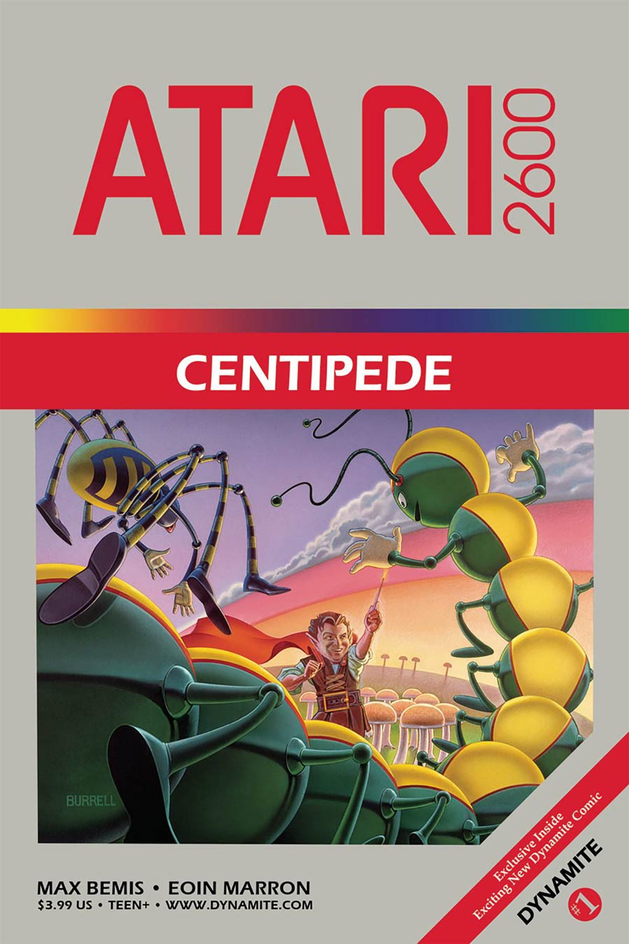 Centipede #1 Cover D Variant Classic Game Art Cover
