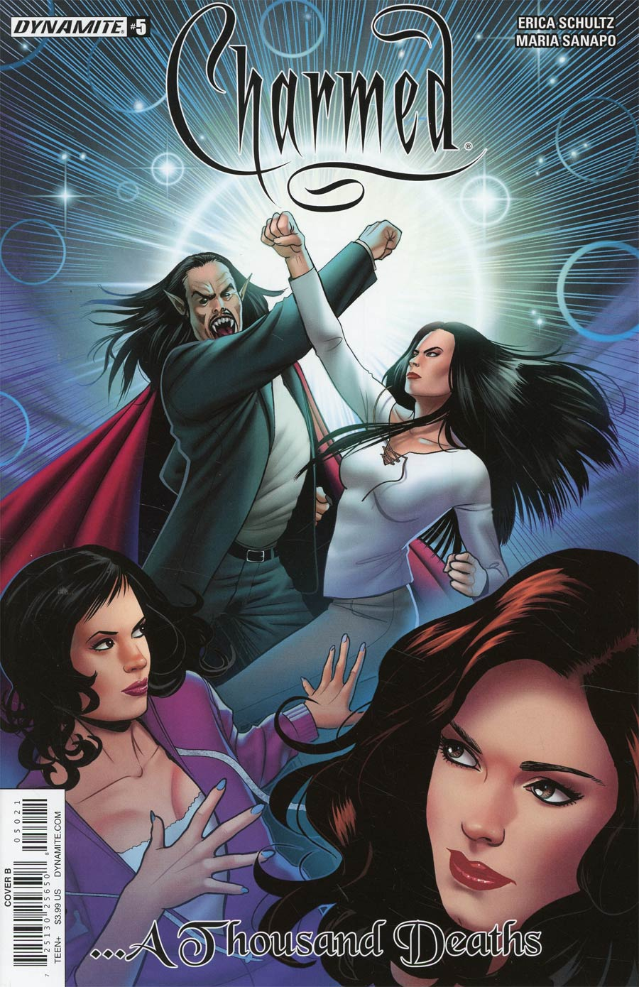 Charmed Vol 2 #5 Cover B Variant Maria Sanapo Cover