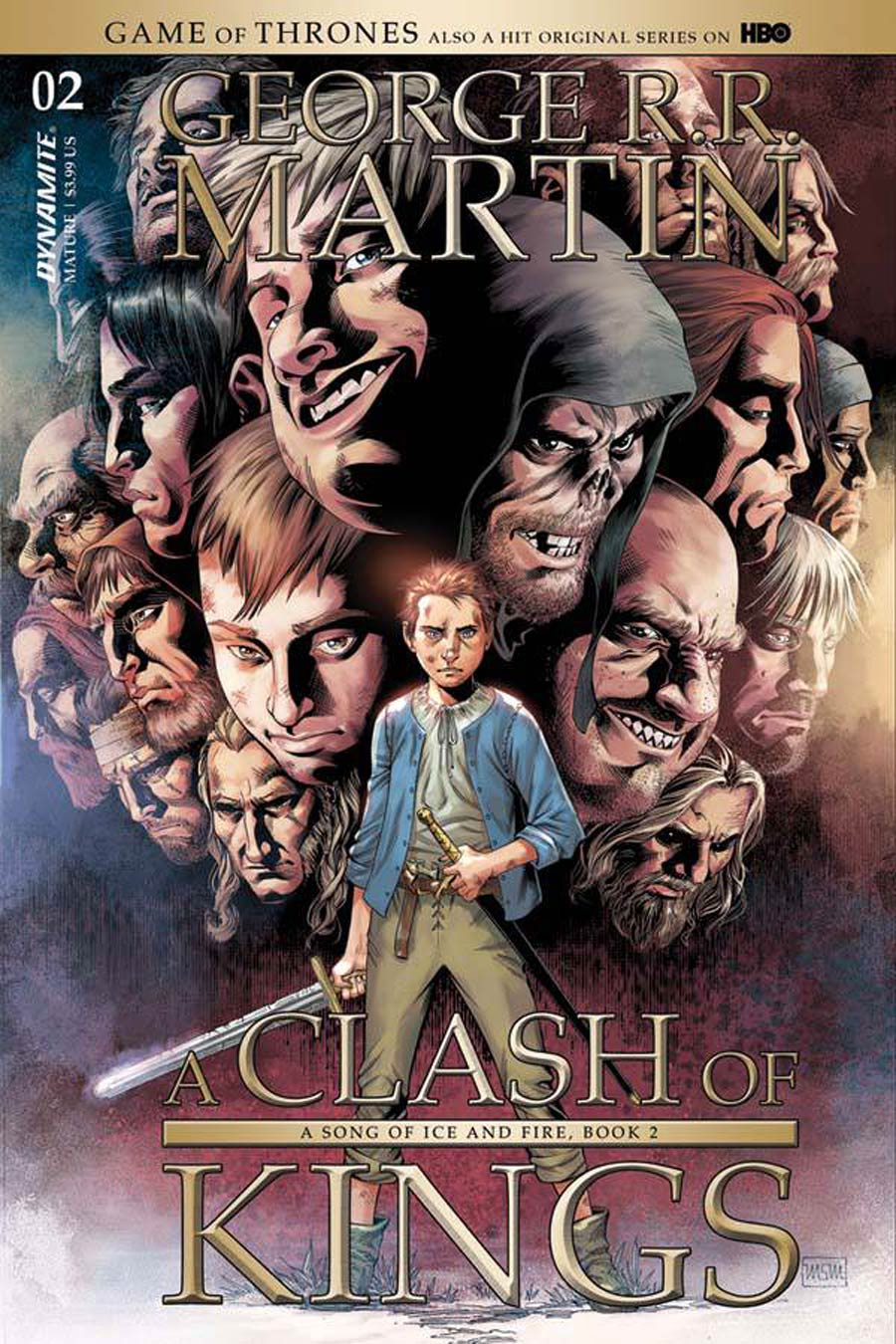 Game Of Thrones Clash Of Kings #2 Cover A Regular Mike Miller Cover
