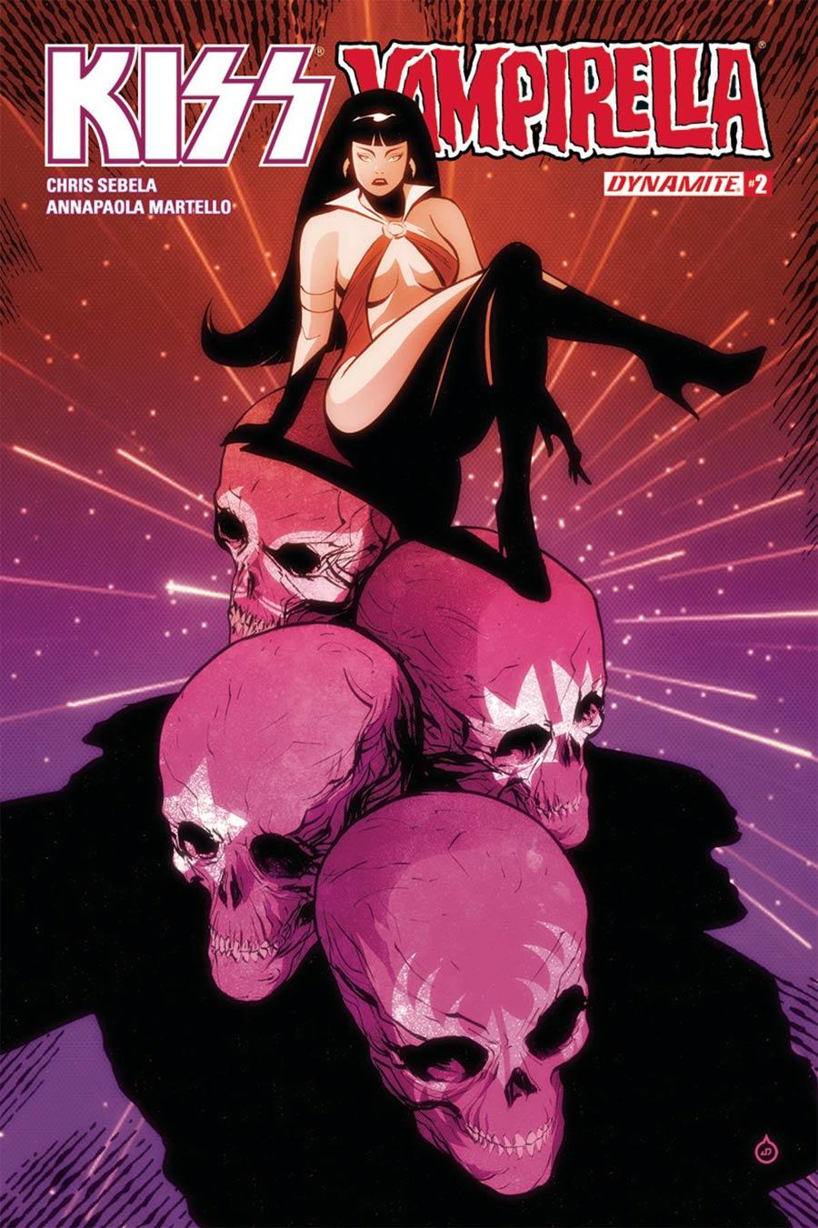KISS Vampirella #2 Cover A Regular Juan Doe Cover