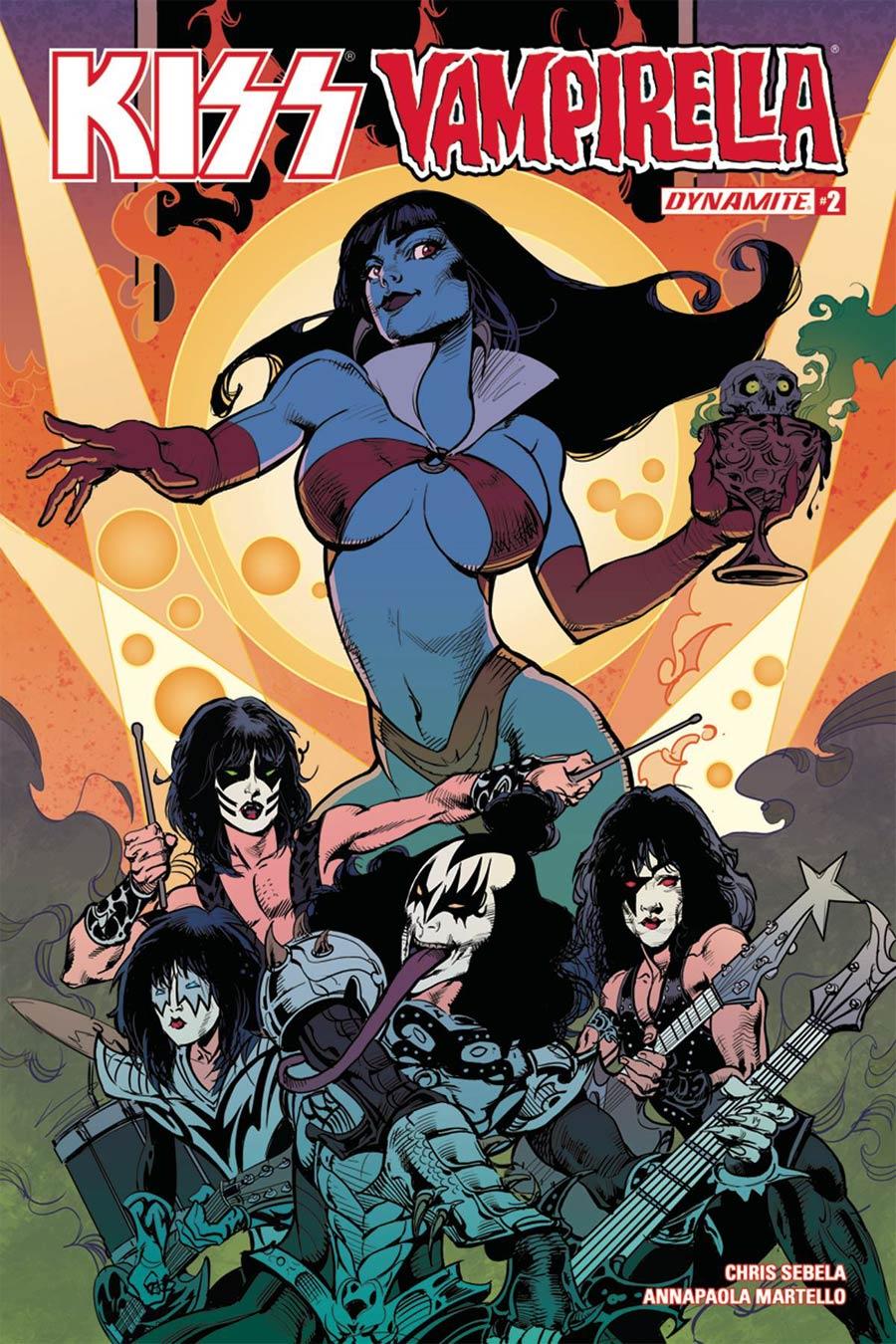 KISS Vampirella #2 Cover C Variant Roberto Castro Cover