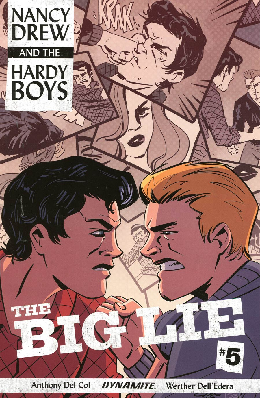 Nancy Drew And The Hardy Boys The Big Lie #5 Cover B Variant Elsa Charretier Cover