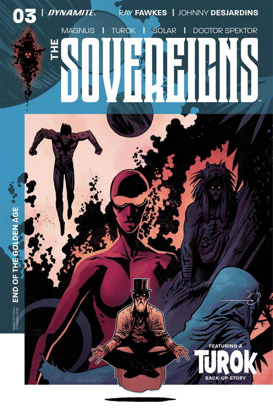 Sovereigns #3 Cover C Variant Dylan Burnett Cover