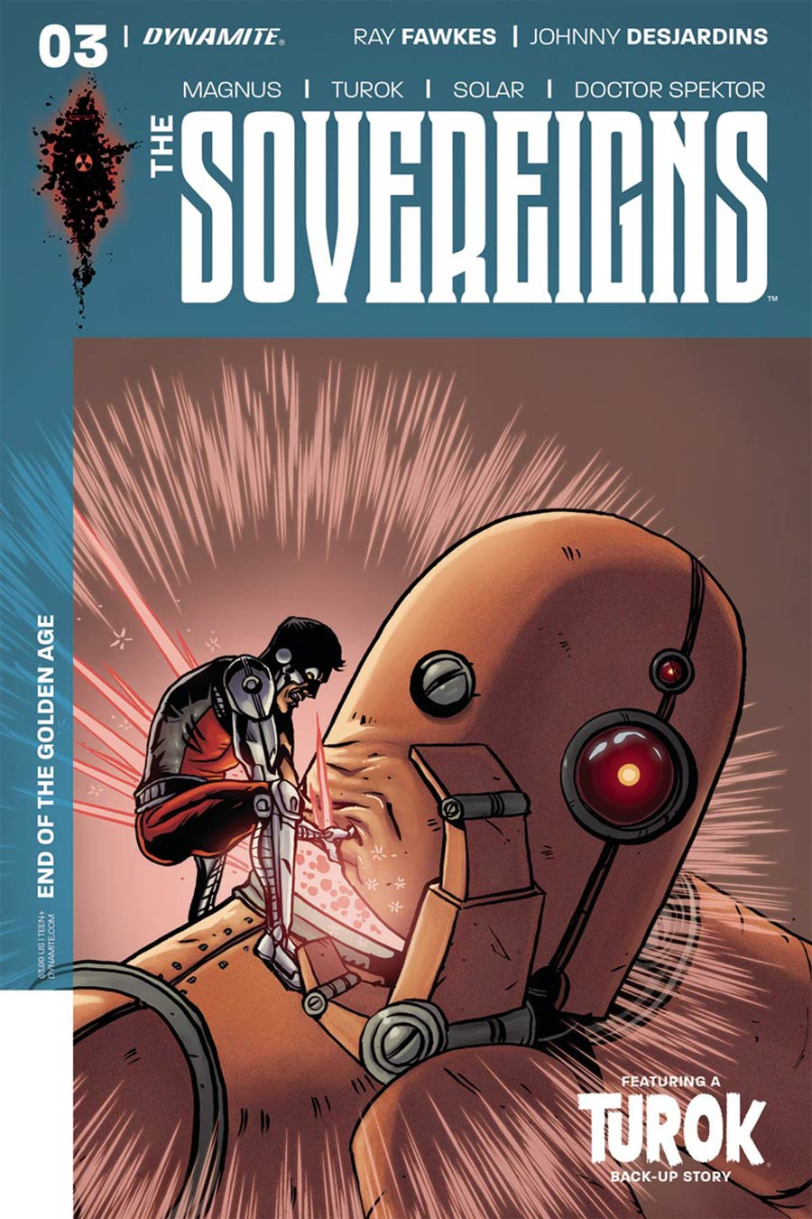 Sovereigns #3 Cover D Variant Jeff McComsey Cover