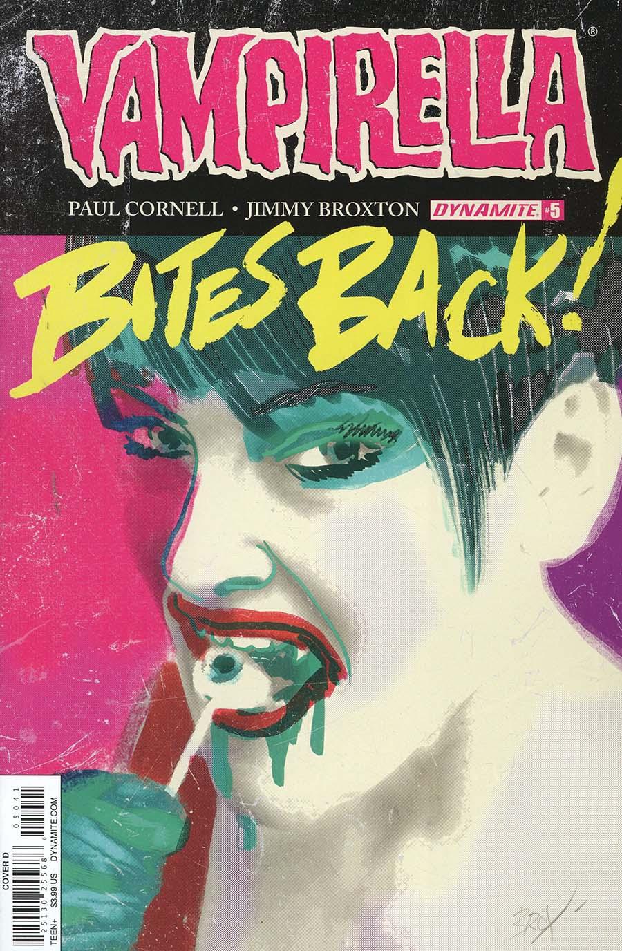 Vampirella Vol 7 #5 Cover D Variant Jimmy Broxton Subscription Cover