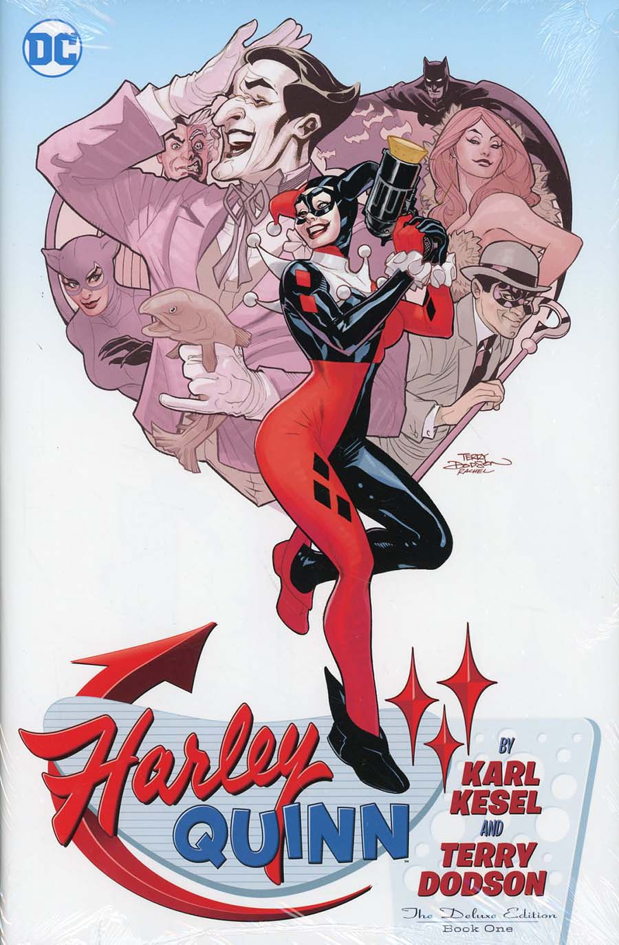 Harley Quinn By Karl Kesel & Terry Dodson Deluxe Edition Book 1 HC