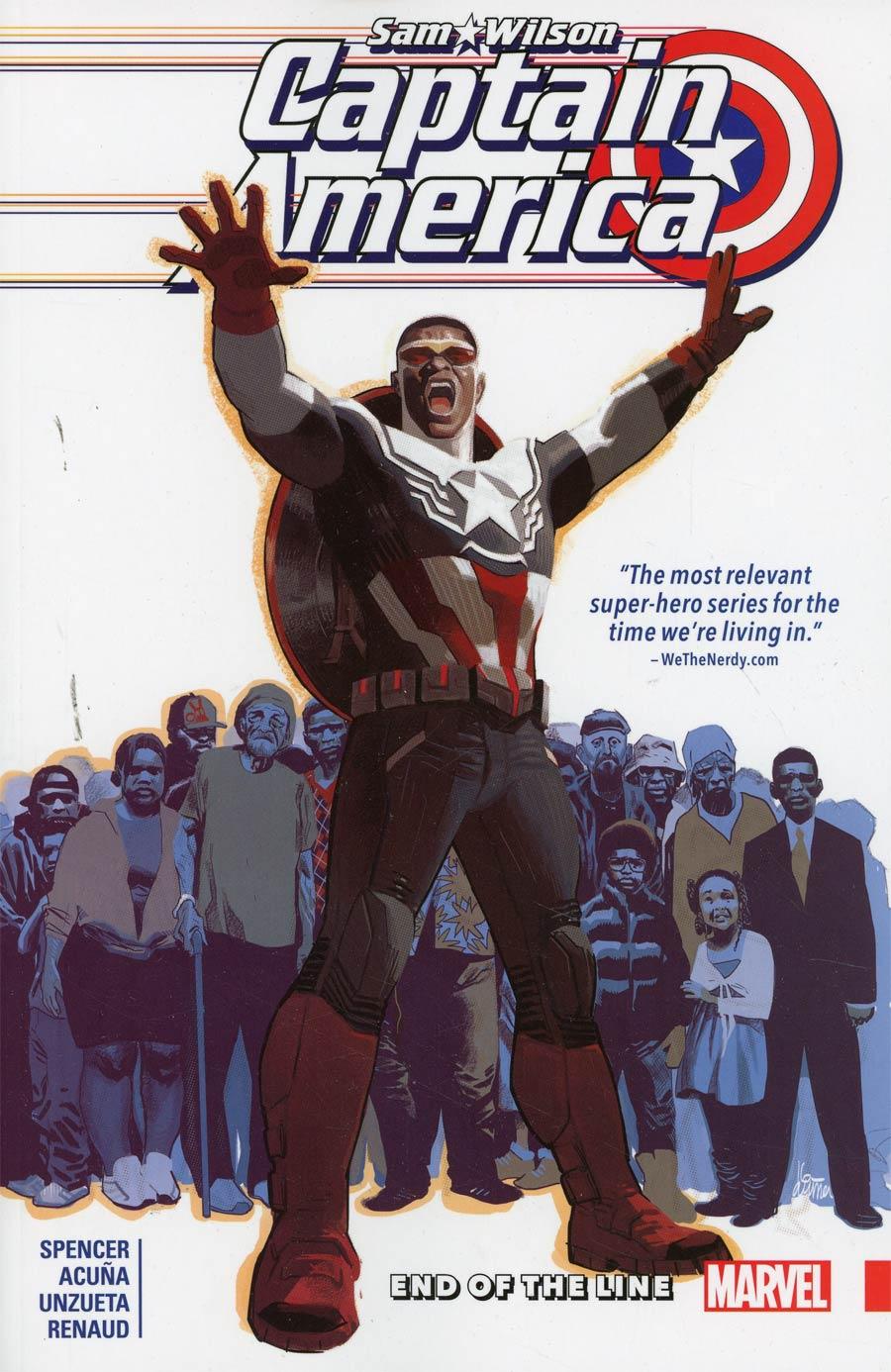 Captain America Sam Wilson Vol 5 End Of The Line TP