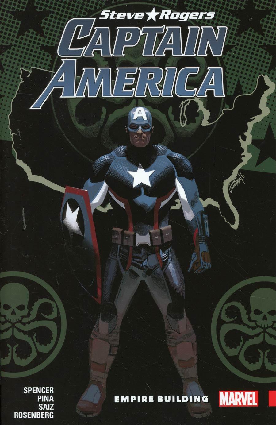 Captain America Steve Rogers Vol 3 Empire Building TP