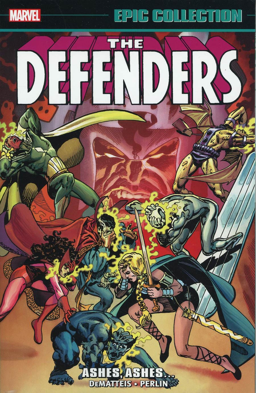 Defenders Epic Collection Vol 7 Ashes Ashes TP