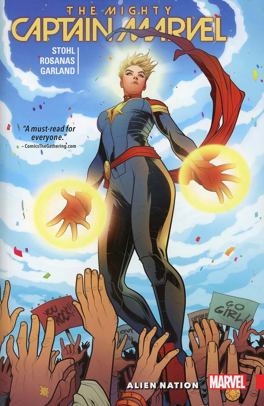 Mighty Captain Marvel Vol 1 Alien Nation TP