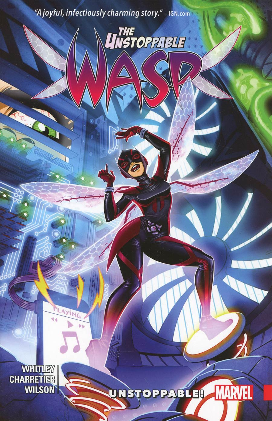 Unstoppable Wasp Vol 1 Unstoppable TP