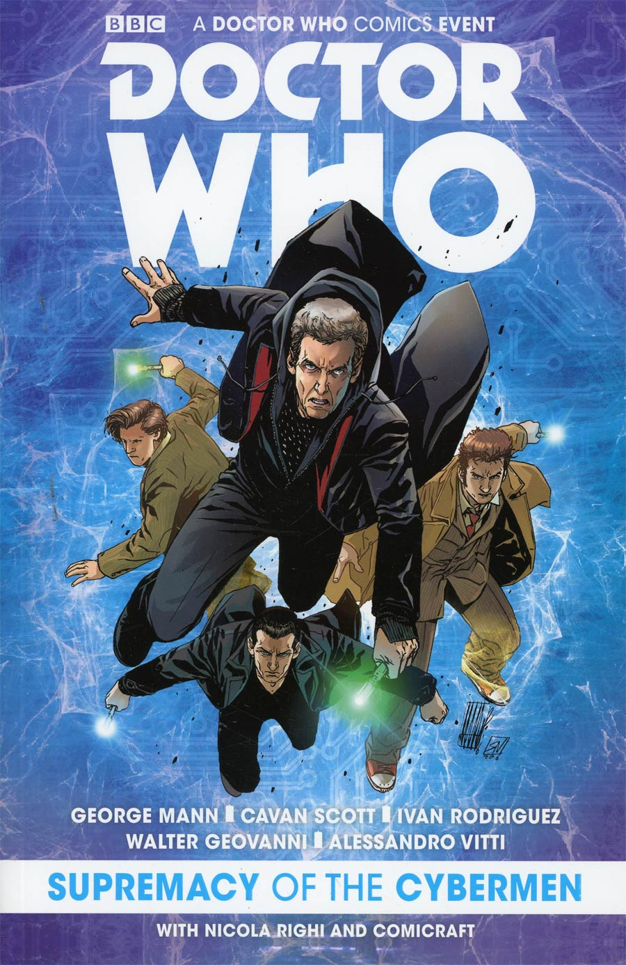 Doctor Who Comics Event Supremacy Of The Cybermen TP