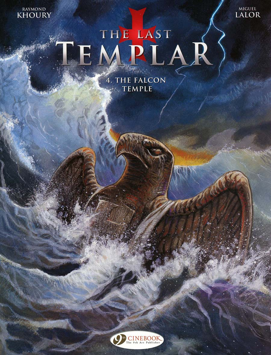 Last Templar Vol 4 Falcon Temple GN