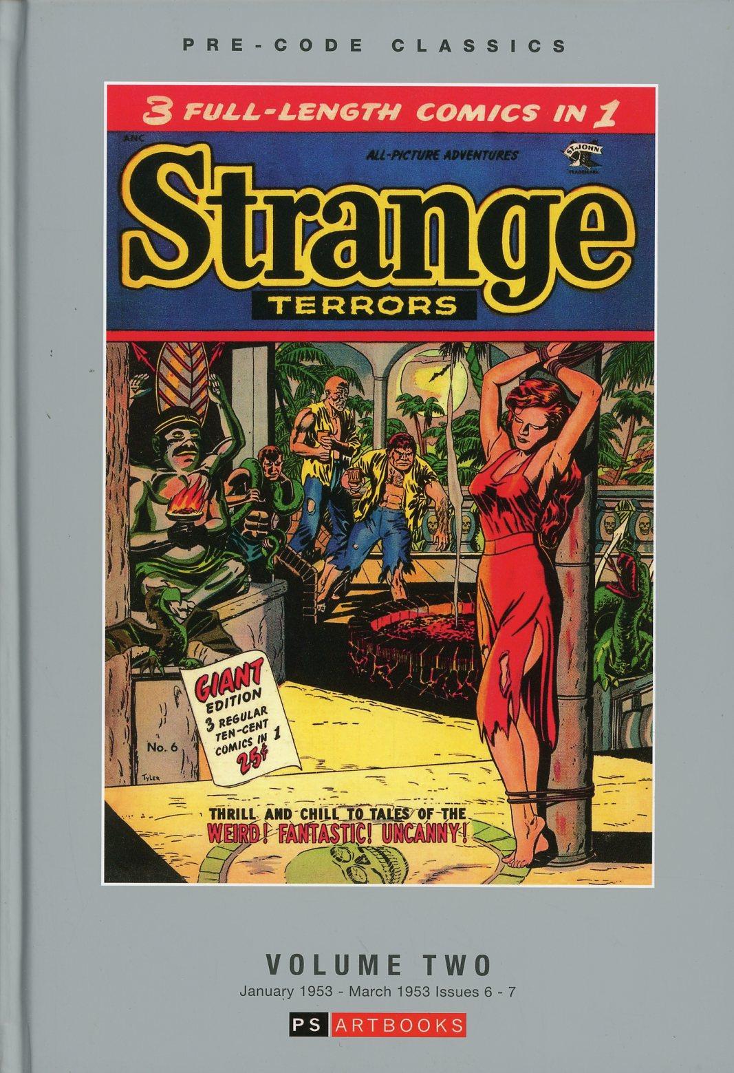 Pre-Code Classics Strange Terrors Vol 2 HC