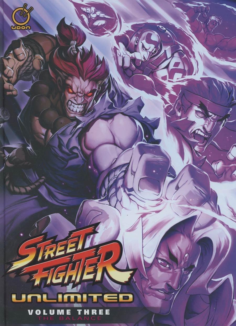 Street Fighter Unlimited Vol 3 Balance HC
