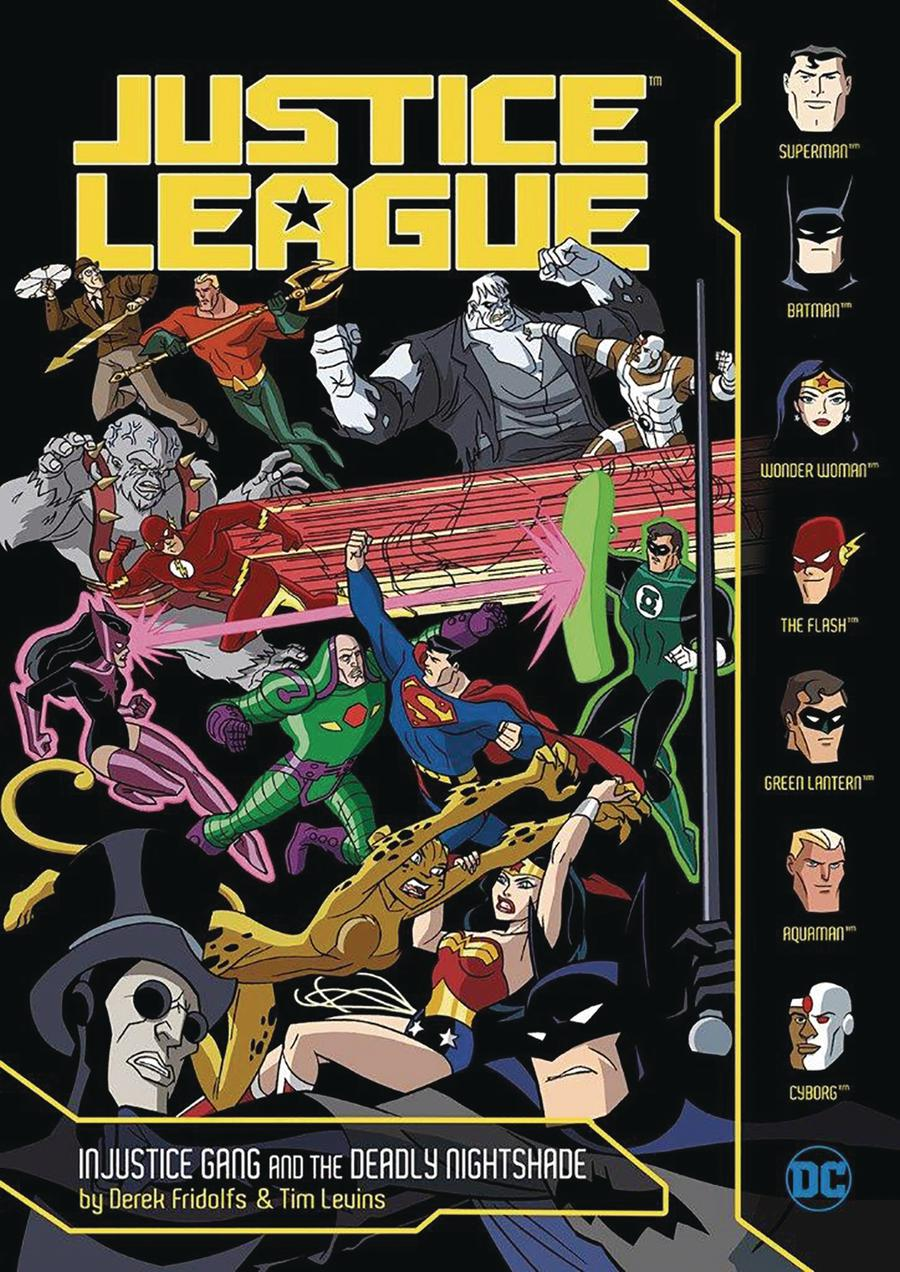 Justice League Injustice Gang And The Deadly Nightshade TP