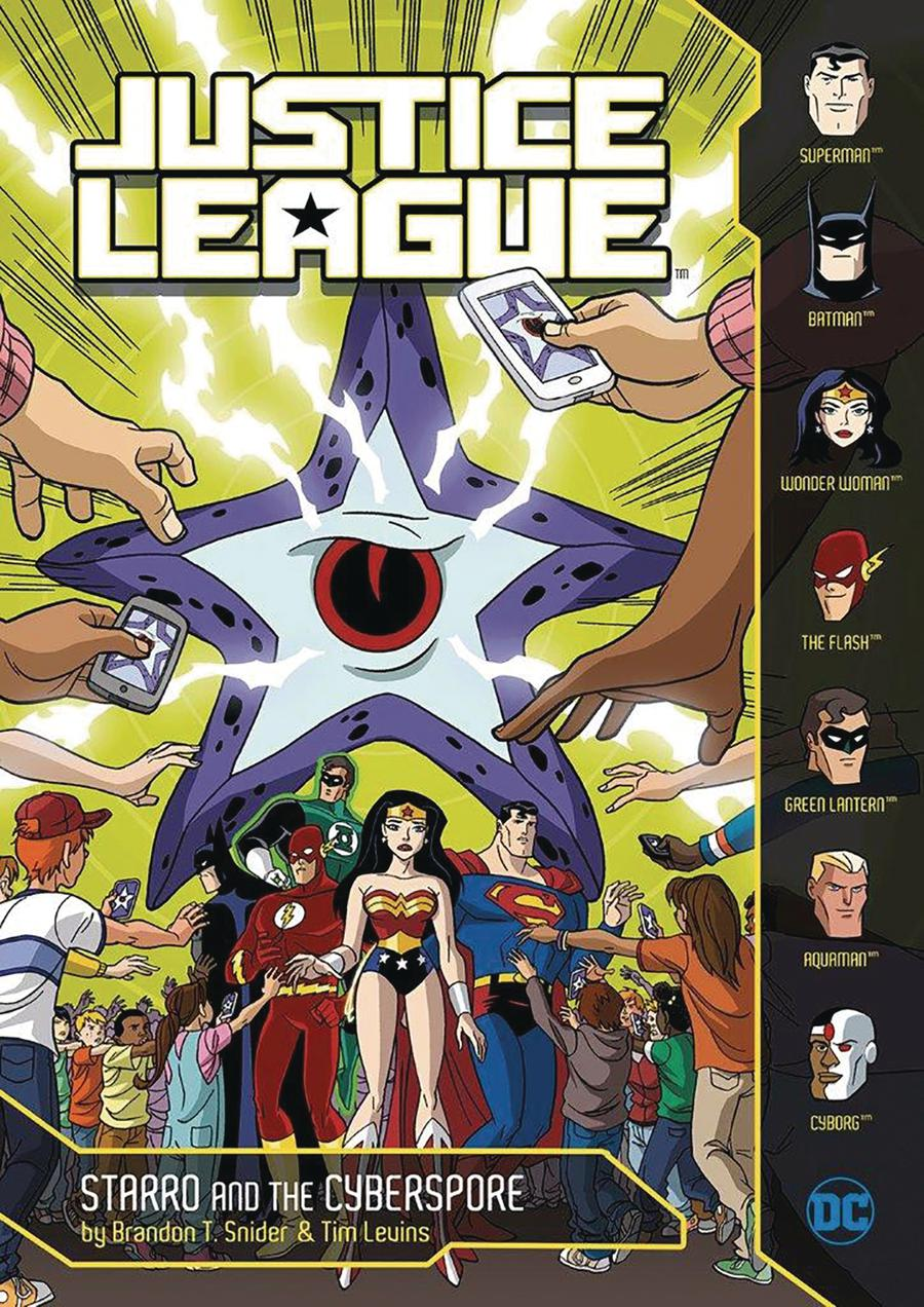 Justice League Starro And The Cyberspore TP