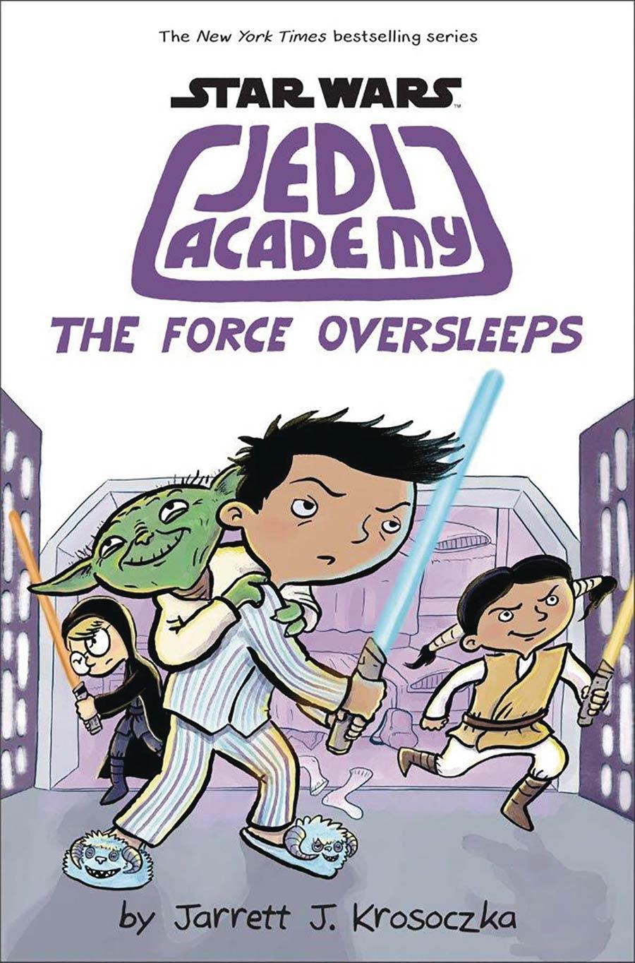 Star Wars Jedi Academy Vol 5 Force Oversleeps HC