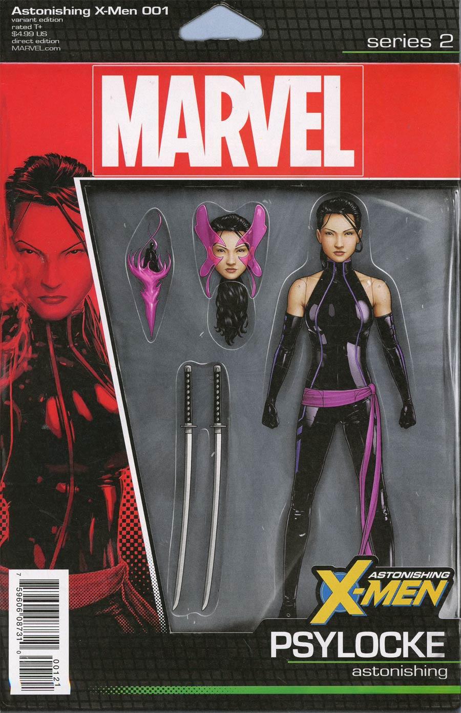 Astonishing X-Men Vol 4 #1 Cover B Variant John Tyler Christopher Action Figure Cover