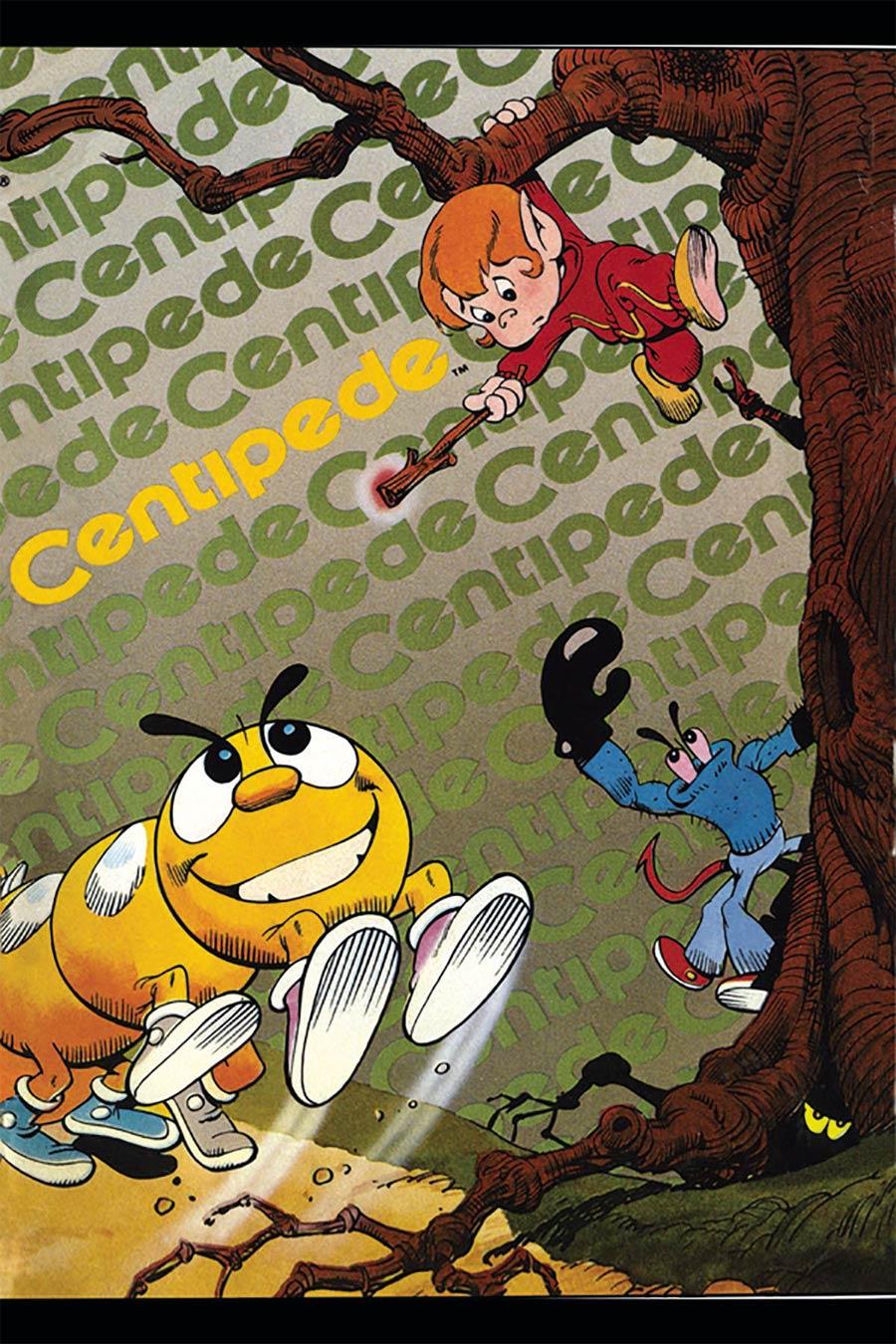 Centipede Classic Atari Mini-Comic Remastered