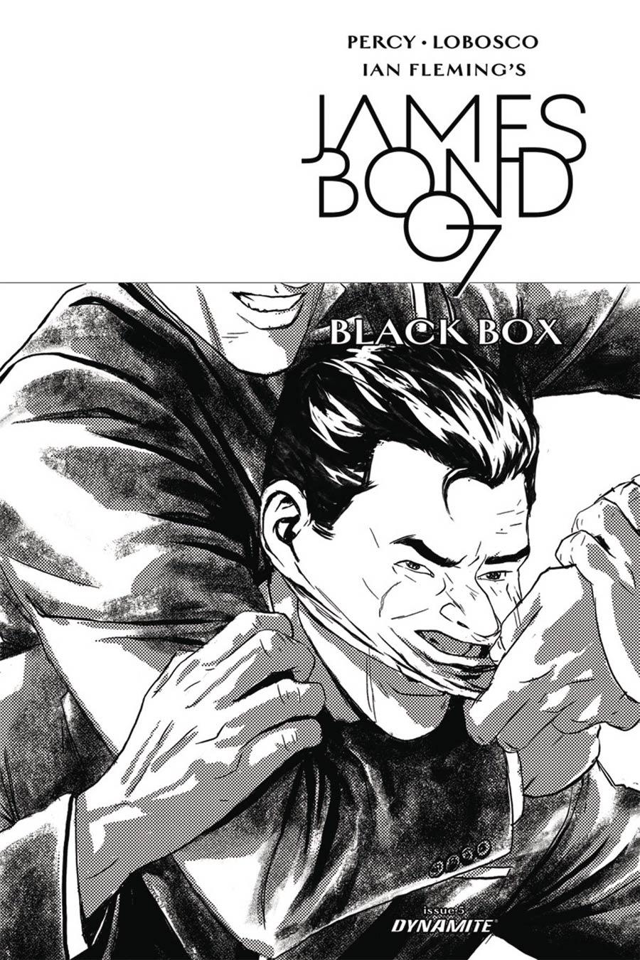 James Bond Vol 2 #5 Cover D Incentive Jason Masters Black & White Cover
