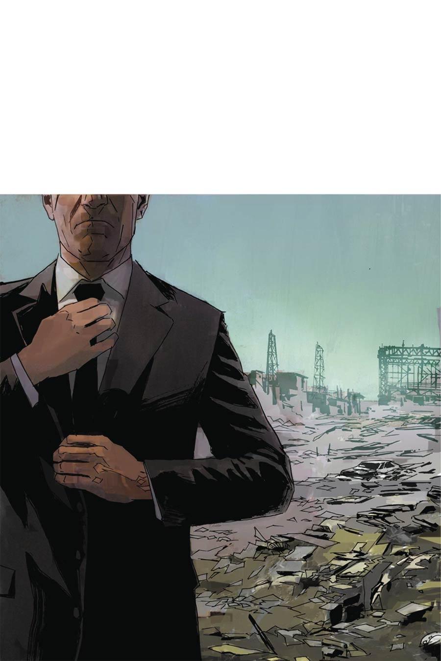 James Bond Vol 2 #5 Cover E Incentive Dominic Reardon Virgin Cover