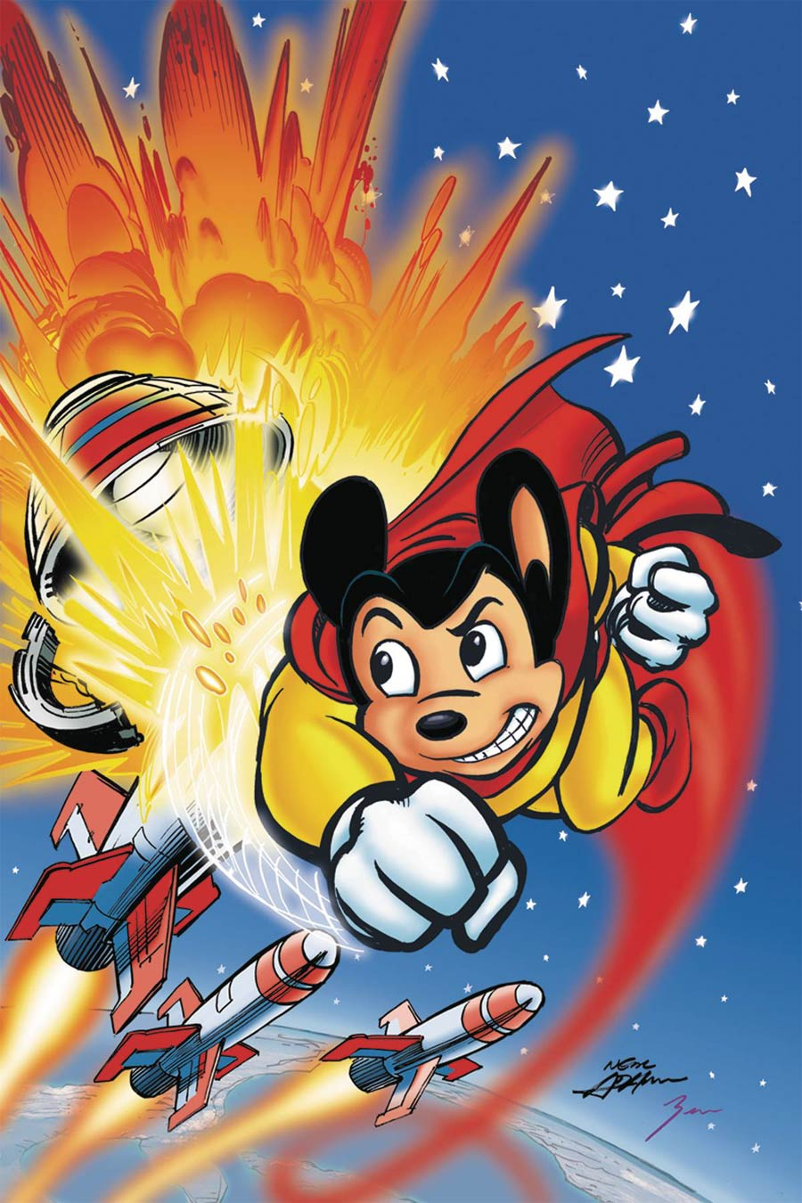 Mighty Mouse Vol 5 #2 Cover E Incentive Neal Adams Virgin Cover
