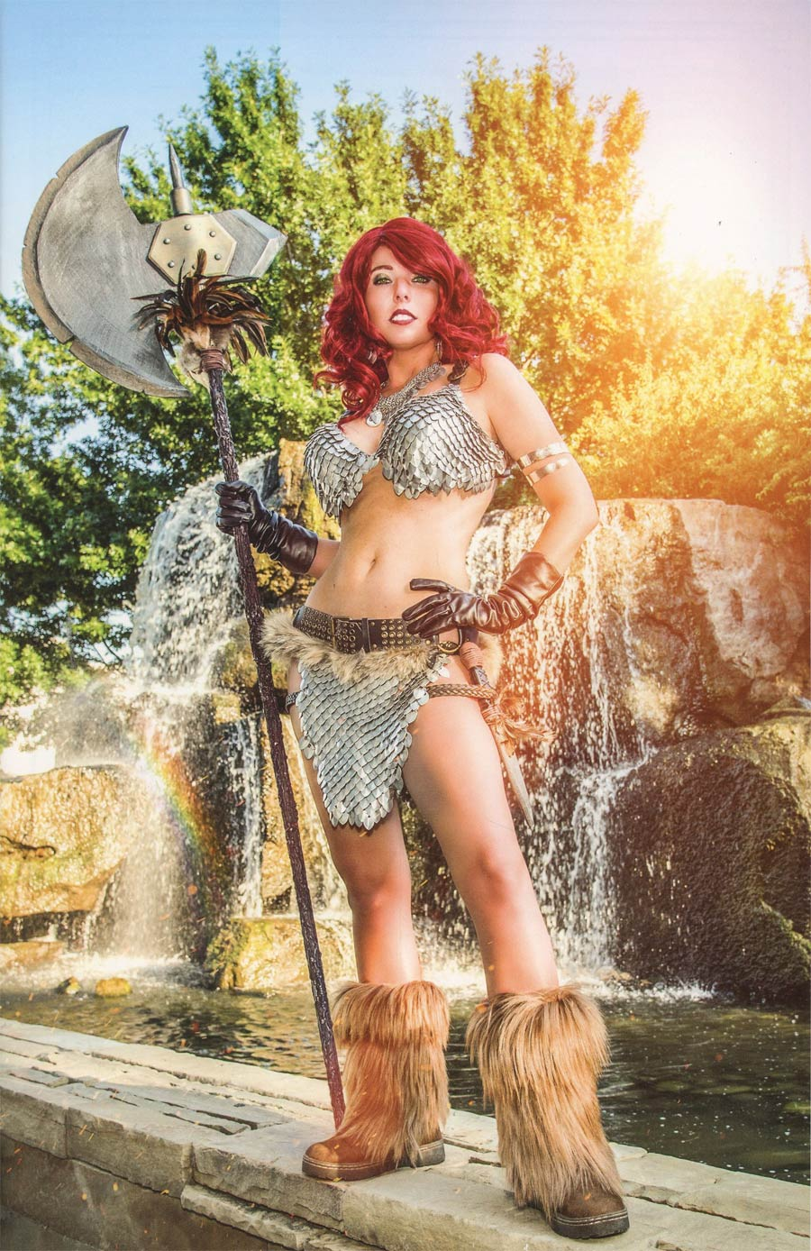 Red Sonja Vol 7 #7 Cover F Incentive Cosplay Photo Virgin Cover