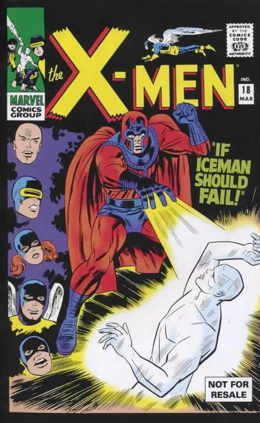 X-Men Vol 1 #18 Cover B Toy Reprint