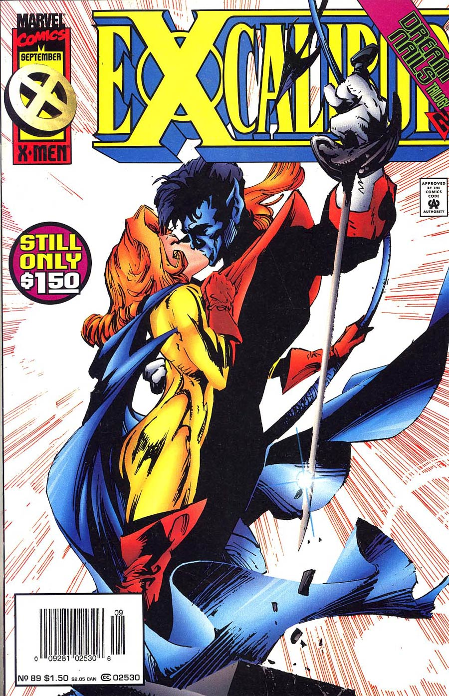 Excalibur #89 Cover B Newsstand Edition