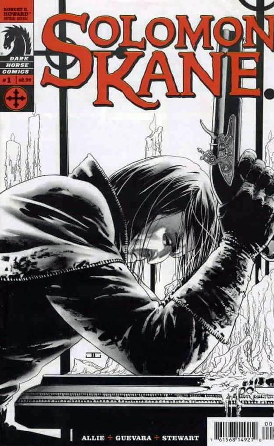 Solomon Kane Vol 2 #1 Cover C RRP John Cassaday Sketch Cover