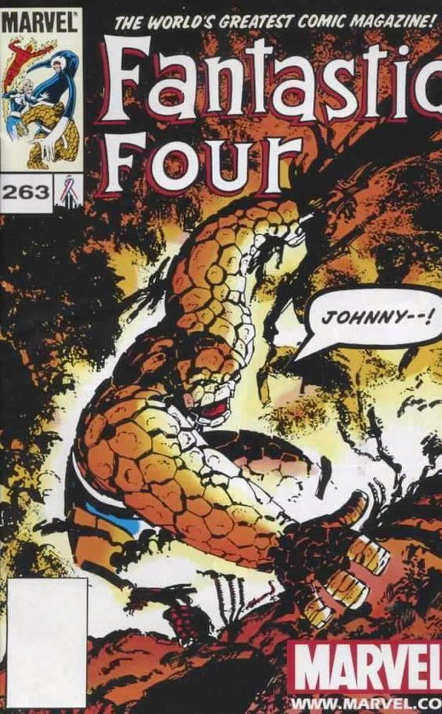 Fantastic Four #263 Cover B Toy Reprint